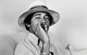 barack obama cigarette