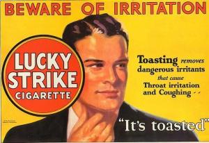 cigarette brand lucky strike