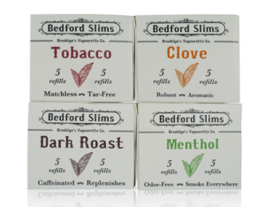 bedford slims flavor cartridge dark roast