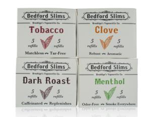 bedford slims flavor cartridge dark roast