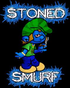 stoned smurf alien vapor e liquid