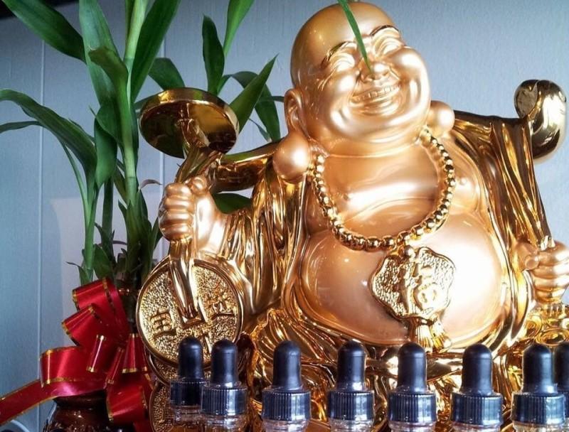 Vaping Buddha