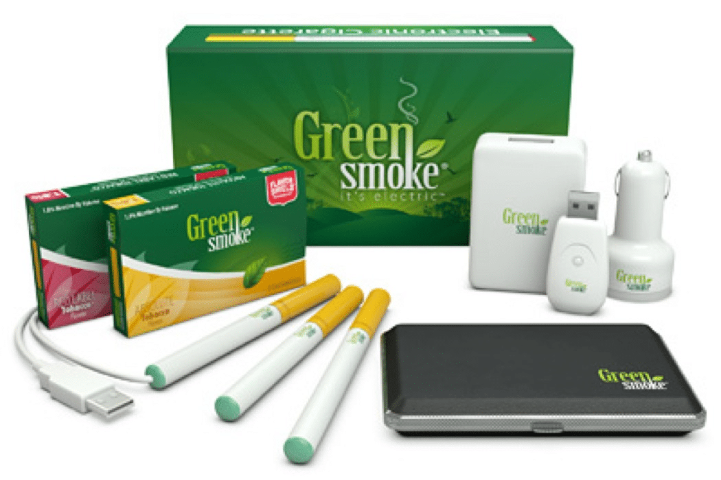 Green Smoke Starter Kit Review – Green Smoke Vs V2 Cigs