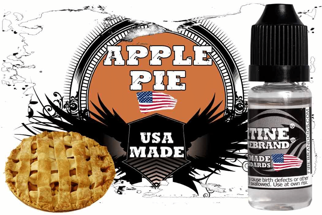 Firebrand E-Cig Juice Review – Apple Pie, Elvis and Brand New Flavors