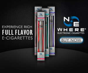 NEwhere Ecigs Coupon – 10% Off All Products
