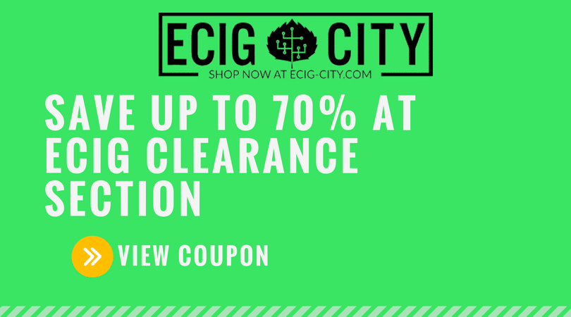 ECig City Coupons and Discounts