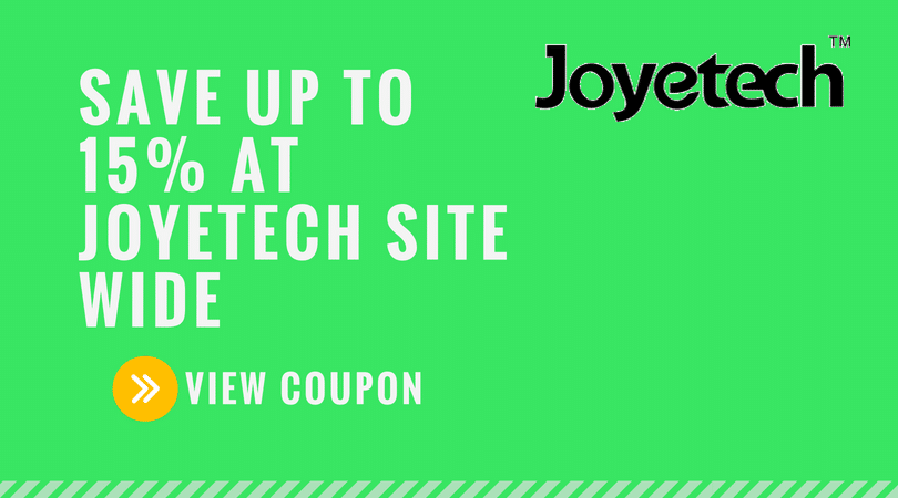 Joyetech Coupon Code: 15% Your Entire Order