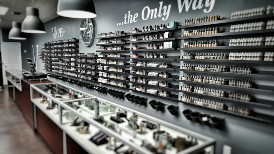 Inside Vape Store