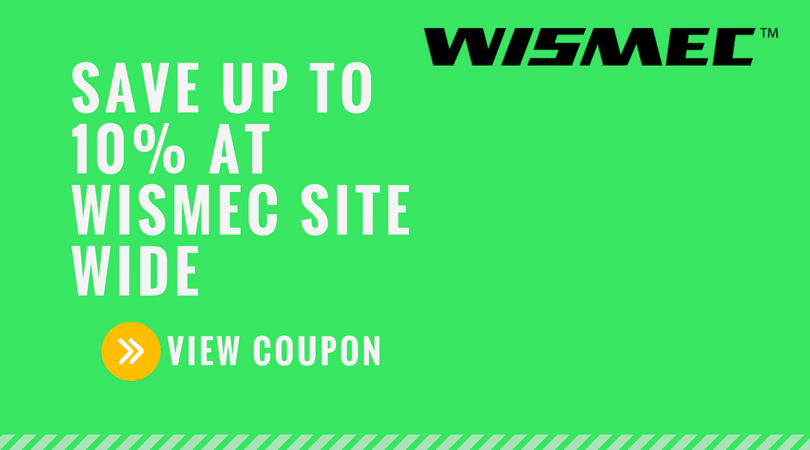 Wismec Coupon: 15% off Sitewide
