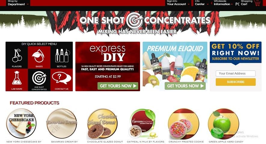 Ecig Express Web Store