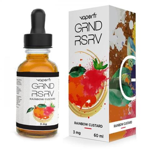 VaporFi Grand Reserve Rainbow Custard E-liquid Review