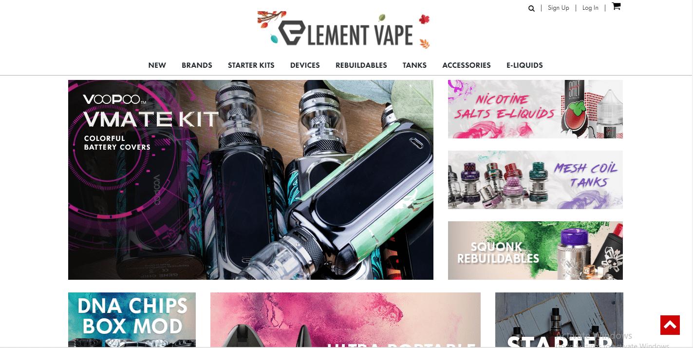 Element Vape.com Review